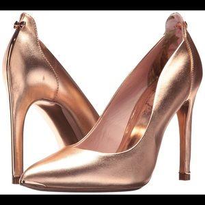 Ted Baker Melisah Rose Gold Pumps NIB Size 7